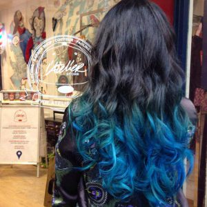 Barber Shop Hair salon Tie and Dye