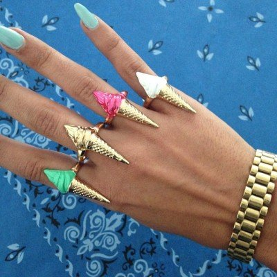 Melody Ehsani ice cream rings