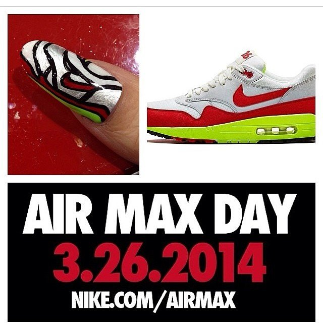 Air max day nike Paolina nails