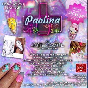 formation nail art paolina