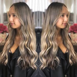 Balayage ombre hair face atelier store hair salon