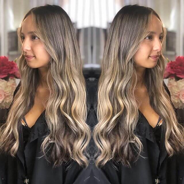 Balayage ombre hair face atelier store hair salon