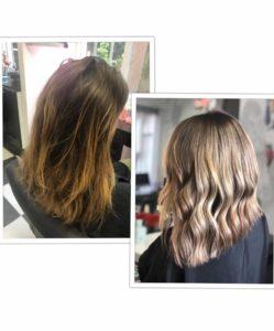 Balayage Ombre Hair Goldy avis hair salon avant apres