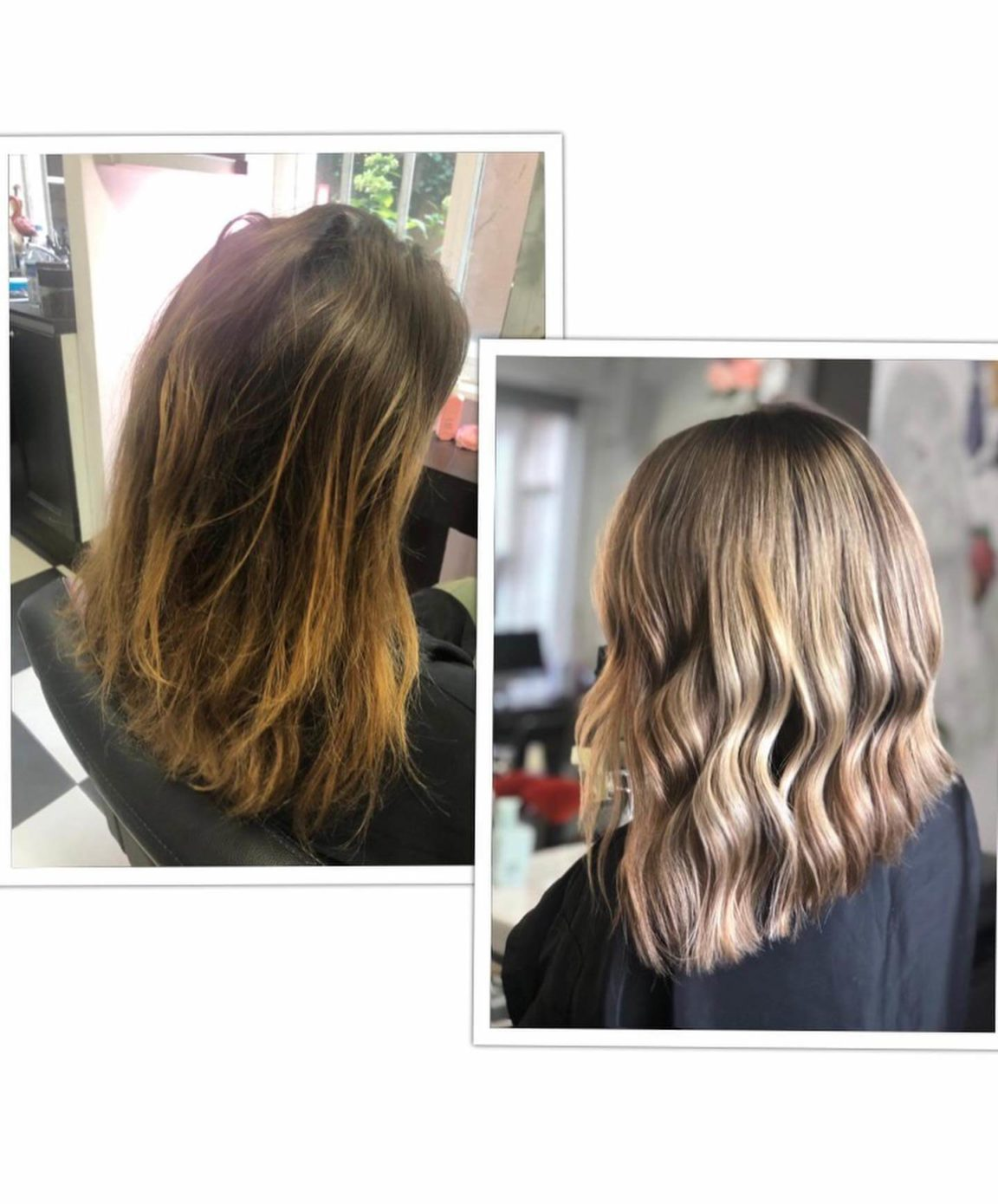 Balayage Ombre Hair Goldy avis hair salon avant apres