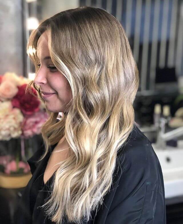 Ombre tie and dye Coutouring Hair
