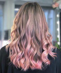 Rose Gold 🌸 atelier store hair salon